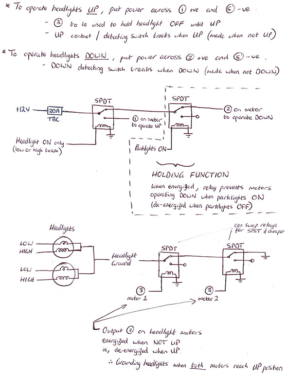 180sx Headlight Wiring Diagram - Wiring Diagram & Electricity Basics ...